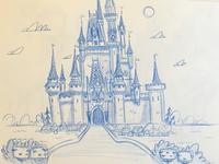 Sketch | Rough sketch of Disney Illustration