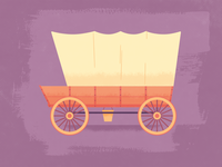 Illustration | Covered Wagon WIP