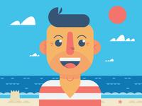 "Illustration | ""Beach Time Bonanza!"""