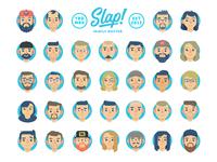 "Slap! Stickers | ""Family Roster"""