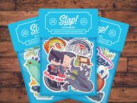 Slap! Stickers | Website Refresh!