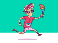 "Illustration | ""Design Sprinter"" - InVisionApp"