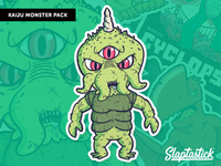 "Illustrations | ""Slaptastick Kaiju Monster No.1"""