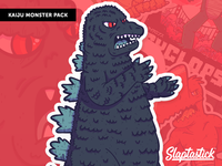 "Illustrations | ""Slaptastick Kaiju Monster No.2"""