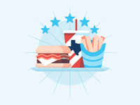 Illustrations | My Fort Bend Burger