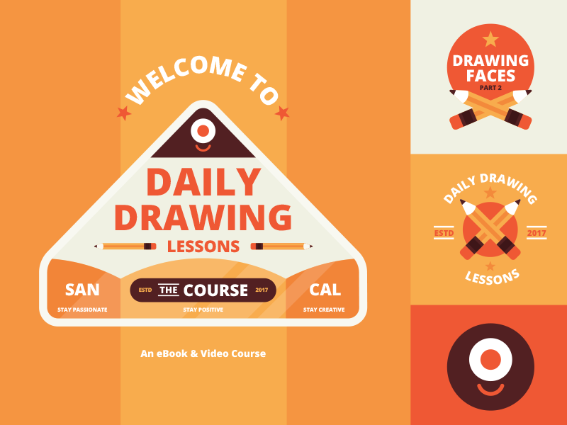 Dribbble rockyroark daily drawing lessons course