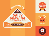 "Branding | ""Daily Drawing Lessons The Course"""
