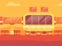 "Illustration | ""Mars Colony Series 01"""