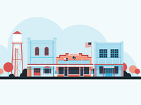 Illustrations | My Fort Bend Footer No. 2