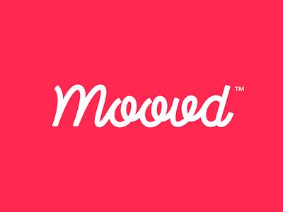 "Branding | ""Moovd Logotype"" typography vector illustrator color freelance logo branding design"