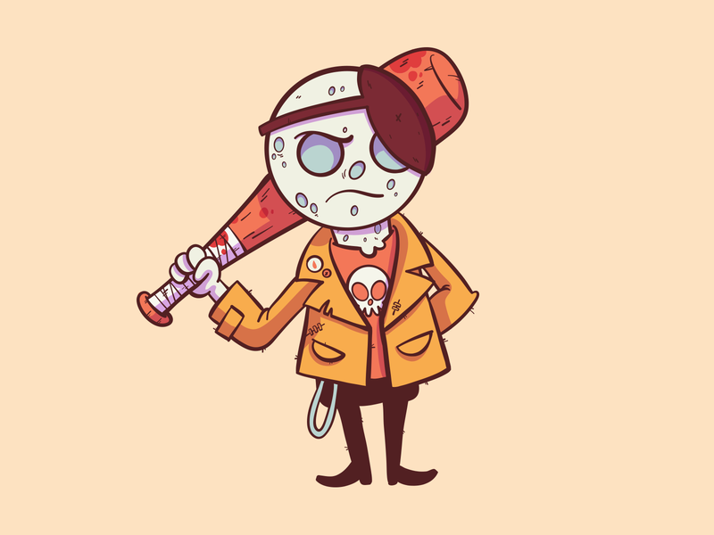 Bad Guys Club | Moon Goon [Day 01] halloween adobe draw vector style freelance color doodle fun illustration design