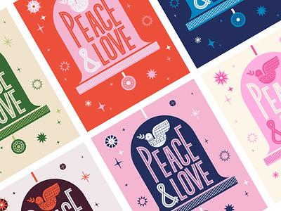 Illustration | Holiday Card No.2 creative christmas cards christmas card holiday card vector style freelance illustrator illustration design