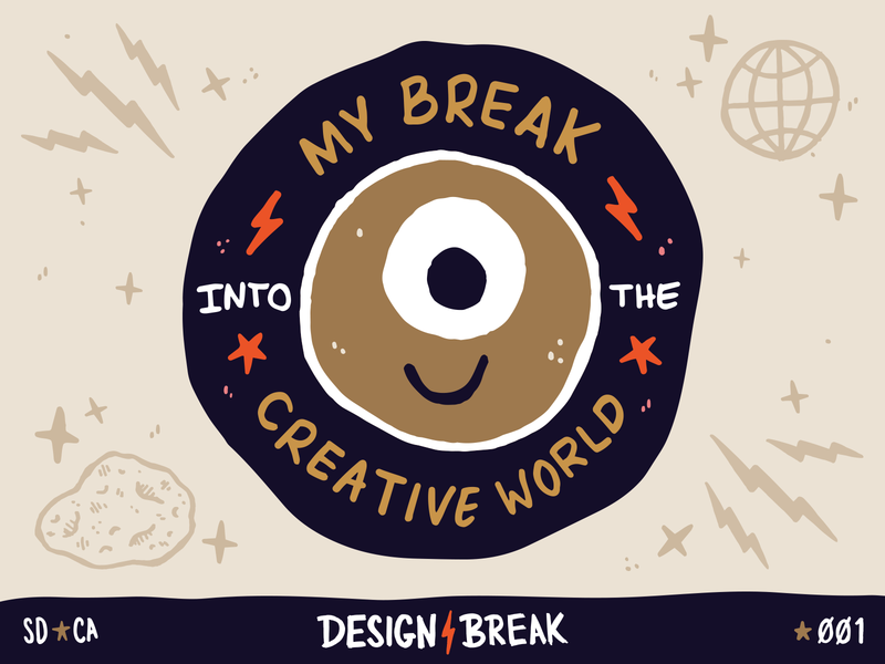 Design Break Podcast |001 freelancer freelance story book illustration podcast logo branding design branding podcasting podcast design break designer design