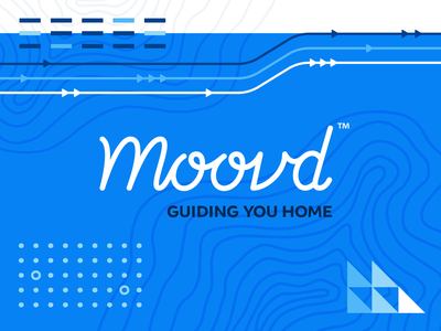Branding | Moovd: Guiding You Home home movers moving illustrator fun vector typography logo exploration style freelance branding illustration design