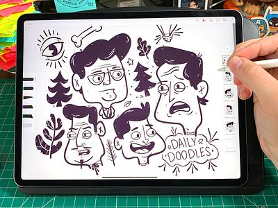 Illustration   Daily Doodle No.89 ipad ipad pro adobe illustrator adobedraw character drawing exploration vector freelance color fun illustrator doodle illustration design