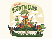 Illustration | Earth Day 2019