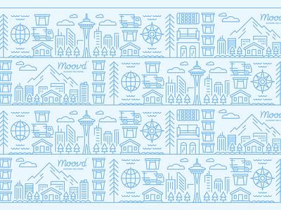 Illustration | Moovd Pattern Illustration pattern illustration pattern lineart line work colorful branding style freelance color illustrator doodle fun illustration design