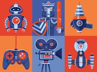 Illustration | Intergalacticon Promo Illustrations