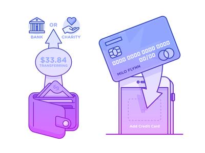 Illustration | Old Finance App Illustrations