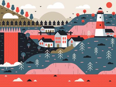 Illustration| Fisherman's Cove