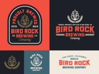 "Branding | ""Bird Rock Brewing No.3"""