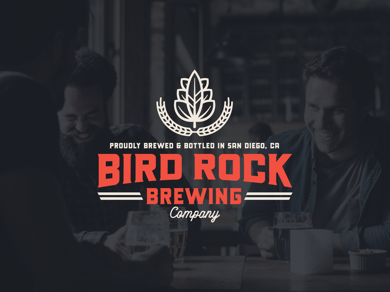 "Branding | ""Bird Rock Brewing No.5"" san diego brewing beer art brewery logo beer logo brewing company brewery beer badge design badges badge typography logo exploration vector freelance branding illustration design"