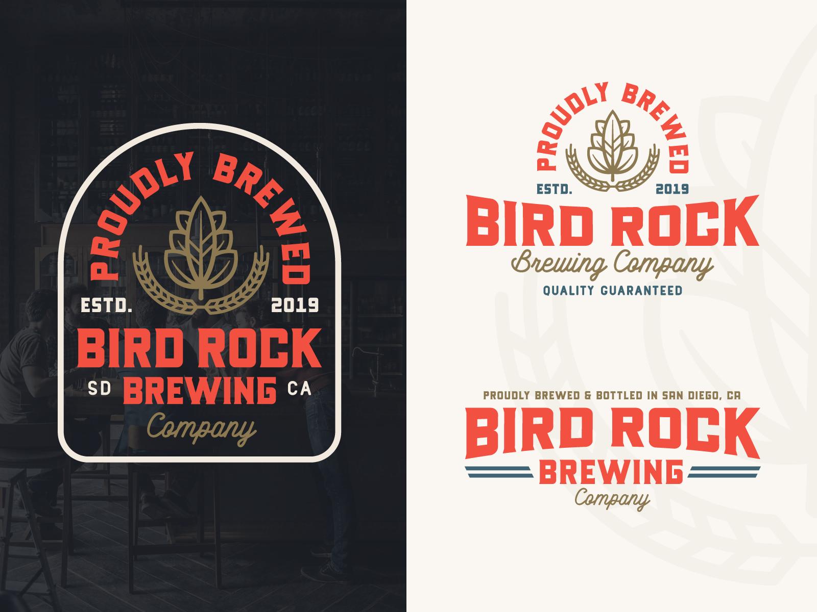 Dribbble rocky roark branding bird rock brew 07