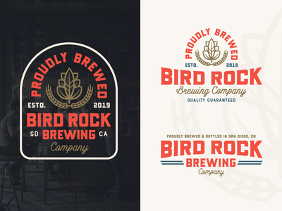 "Branding | ""Bird Rock Brewing No.6"""