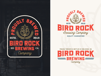 "Branding   ""Bird Rock Brewing No.6"""