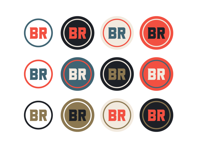 "Branding | ""Bird Rock Brewing No.7"" color studies san diego brewery logo beer logo beer label beer brewing company brewery colorful typography logo exploration vector style freelance branding illustration design"