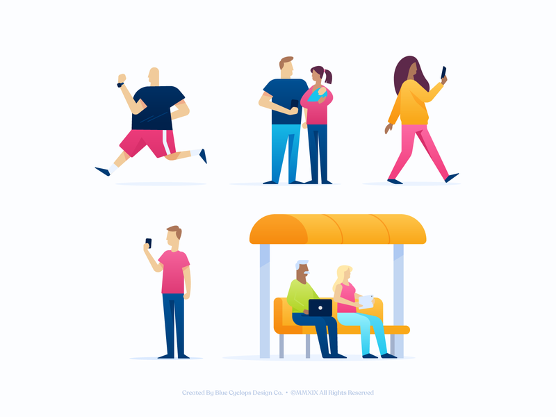 Illustration | Sureify Illustration Style Discovery discovery vector style exploration character doodle illustrator color freelance illustration design