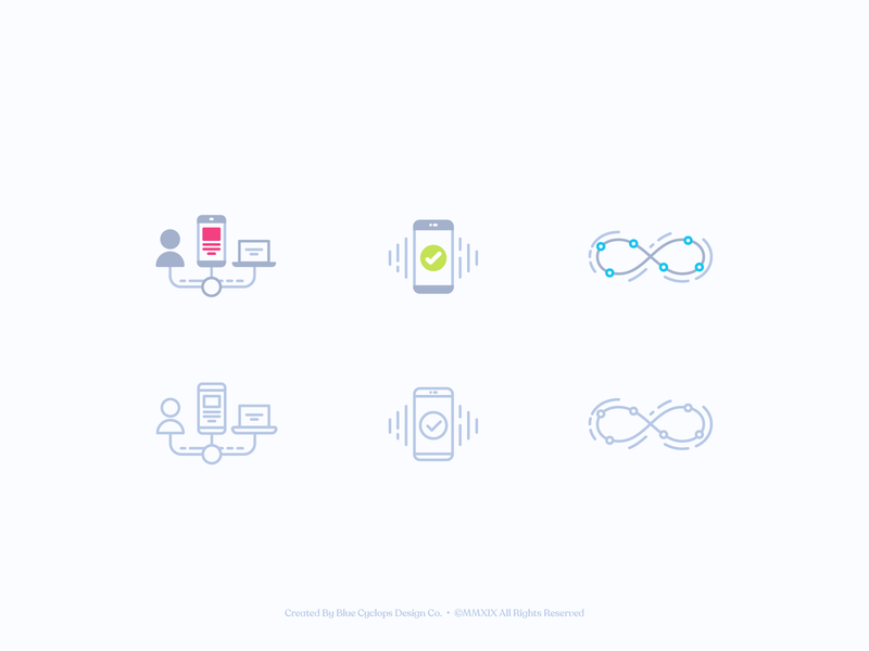 Sureify | Illustrated Icons No.2 icons set illustrated icons icons design iconography icons style vector freelance branding color illustrator fun illustration design