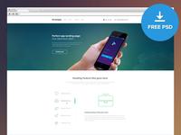 Smart App Landing Page - FREE