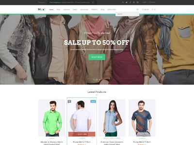Mox eCommerce PSD Template ecommerce psd premium psd template shop psd shop homepage ecommerce homepage shop theme eccomerce theme woocommerce psd theme clean shopping theme shopping psd template