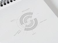Sensoriis - Final Sketch wifi logo vector ux ui tech logo s logo sketching sketches sketchbook logo identity logo idea logo design logo concept logo identity design explorations design branding design branding and identity branding