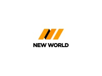 New World - Logo Design symbol mark branding brand identity logo design logodesign behance new world corporate identity nw logo packaging design delivery service delivery packaging package services service globe world new