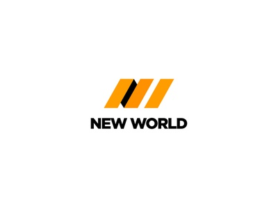 New World - Logo Design symbol mark branding brand identity logo design logodesign behance new world corporate identity nw logo packaging design delivery service delivery packaging package services service globe world new