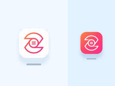 Z Remote Icon - Unused Concept brand identity branding lettermark z logo z remote dribbbleweeklywarmup fresh colors logo design android icon ios icon app icon icon design icon gradient pause play icon connect remote zoom z icon