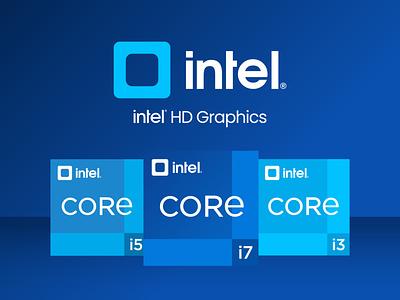 Intel Logo Redesign ui  ux concept design refresh modernism intel redesign intel logo intel processor gradient blue square brand identity branding logo design logo rebrand redesign-tuesday redesign concept rebranding redesign