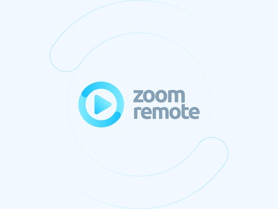 Zoom Remote Logo Design zoom video logo typography share record rebranding logo lettering identity icon gradient custom connection conference chat camera branding arrow app logo app icon