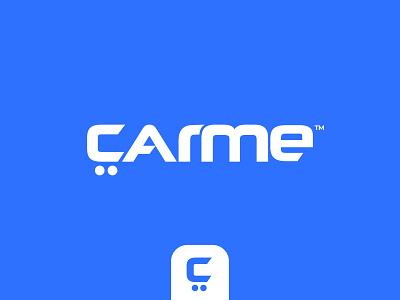 CarMe - Logo concept pt.3 vw lettering identity typography ui audi branding rent car letter c wordmark logotype motor auto buy and sell automobile automotive leasing car dealer car sales car