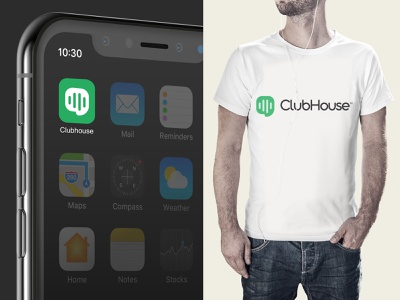 ClubHouse Logo Concept concept design redesign concept chat app content strategy elon musk chris do ui invitation clubhouse invite clubhouse app clubhouse logo clubhouse influencer conference room meeting room meeting rooms audio chat chat audio