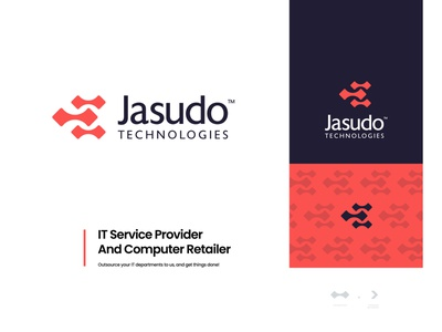Jasudo Technologies - Logo concept v.01 brand identity design retailer typography logomark logo design logo branding abstract internet services internet internet marketing concept design creative logo unique logo flat logo modern app icon app technology logo technology
