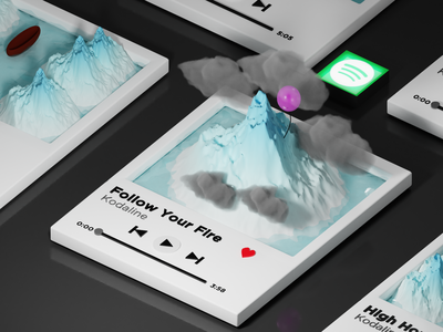 Playlist vector minimal design art graphic design digital illustration illustration 3dart blender3d