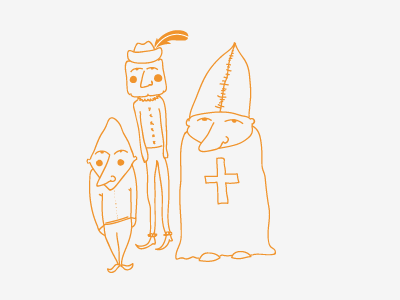 these guys... doodle illustration character