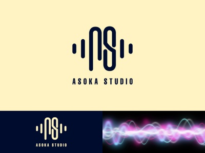 Asoka Studio Logo Project logo design monogram logo monogram logotype logomark logodesign logo identitydesign branding brand identity