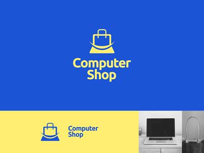 Computer Shop  Logo Project logo design monogram logo monogram logotype logomark logodesign logo identitydesign branding brand identity