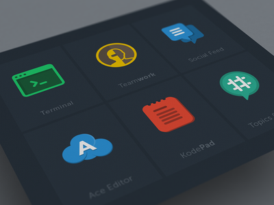 App Icons app icon web flat simple clear