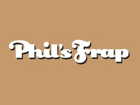 Phil's Frap Logotype
