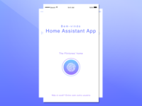 Daily UI challenge #001 — Smart Home Page